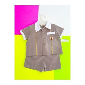Vintage WOOLCO Toddler 2 Piece Outfit NWT Rare